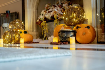 Alexander James Interiors create Halloween magic at Parklands Manor