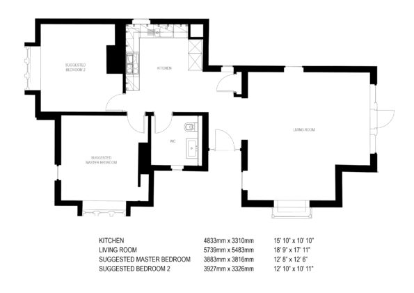174758 Knowle Hill Park Gate Lodge Floorplan